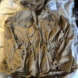 FOREVER 21 PLUS size 2 Utility Jacket